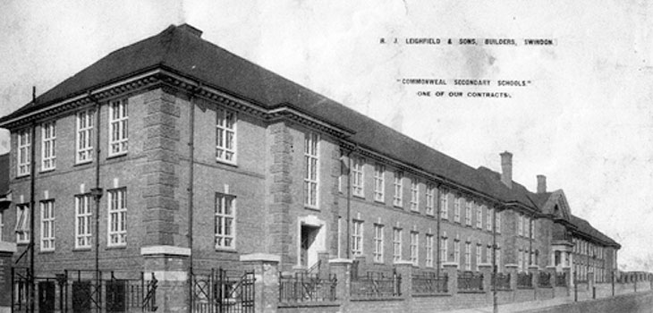 Photo of Commonweal School in 1927