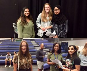 Commonweal Students getting their A Level Results 2019