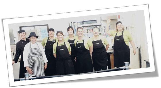 Aspens Catering Team